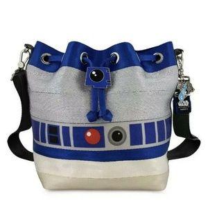 Harveys Disney Star Wars R2D2 Crossbody Backpack
